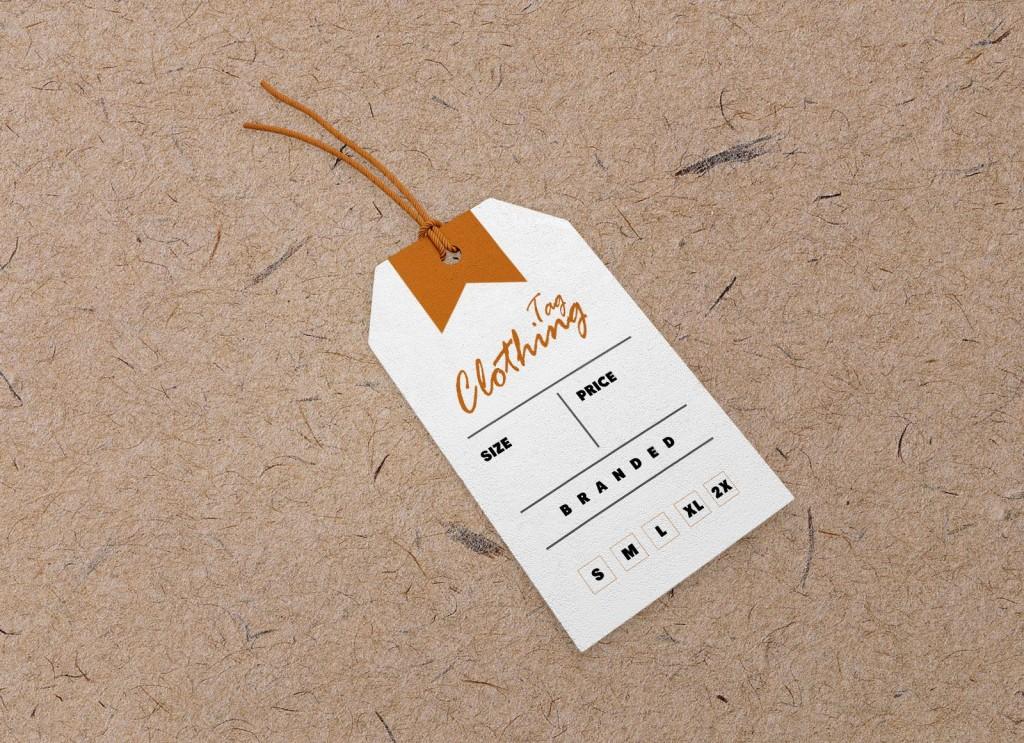008 Frightening Free Clothing Label Design Template Image  Templates DownloadLarge