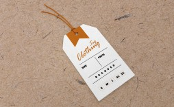 008 Frightening Free Clothing Label Design Template Image  Templates Download