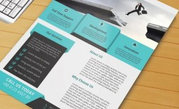 008 Frightening Free Download Flyer Template Highest Quality  Templates Blank Leaflet Word Psd