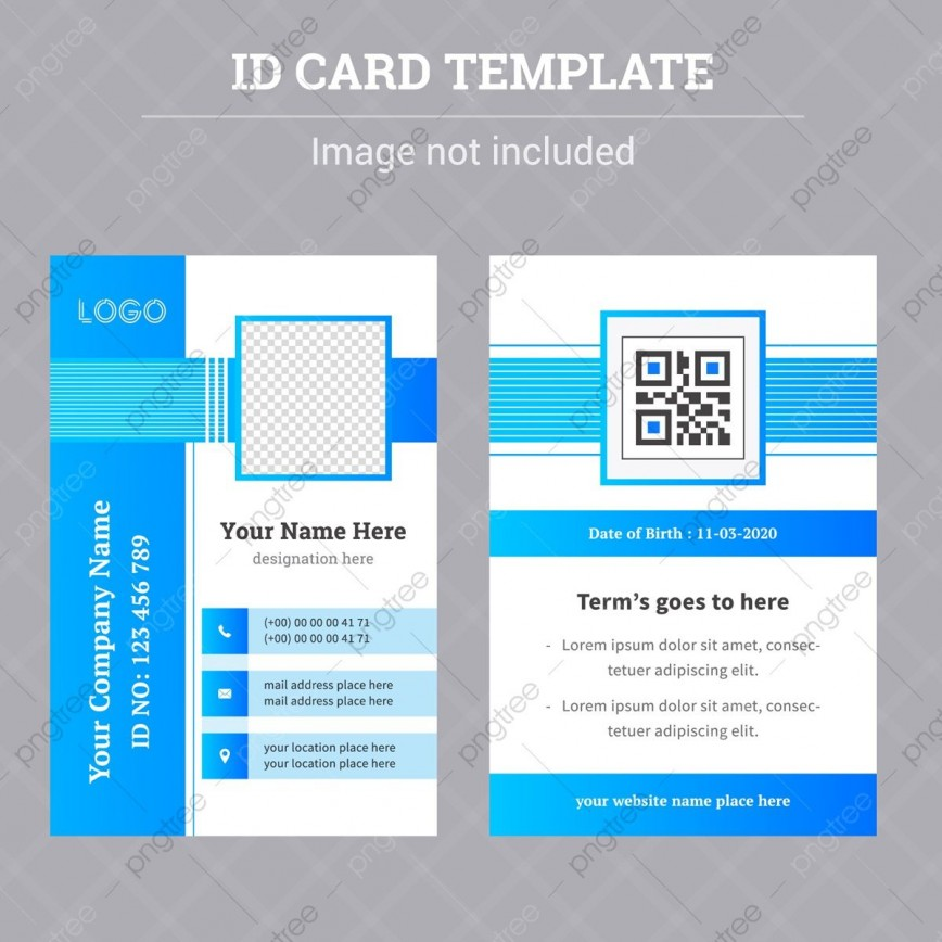 008 Frightening Free Id Badge Template Inspiration  Templates Card Download Vertical Psd Ai