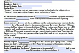 008 Frightening Generic Rental Lease Agreement Nj Photo  Sample