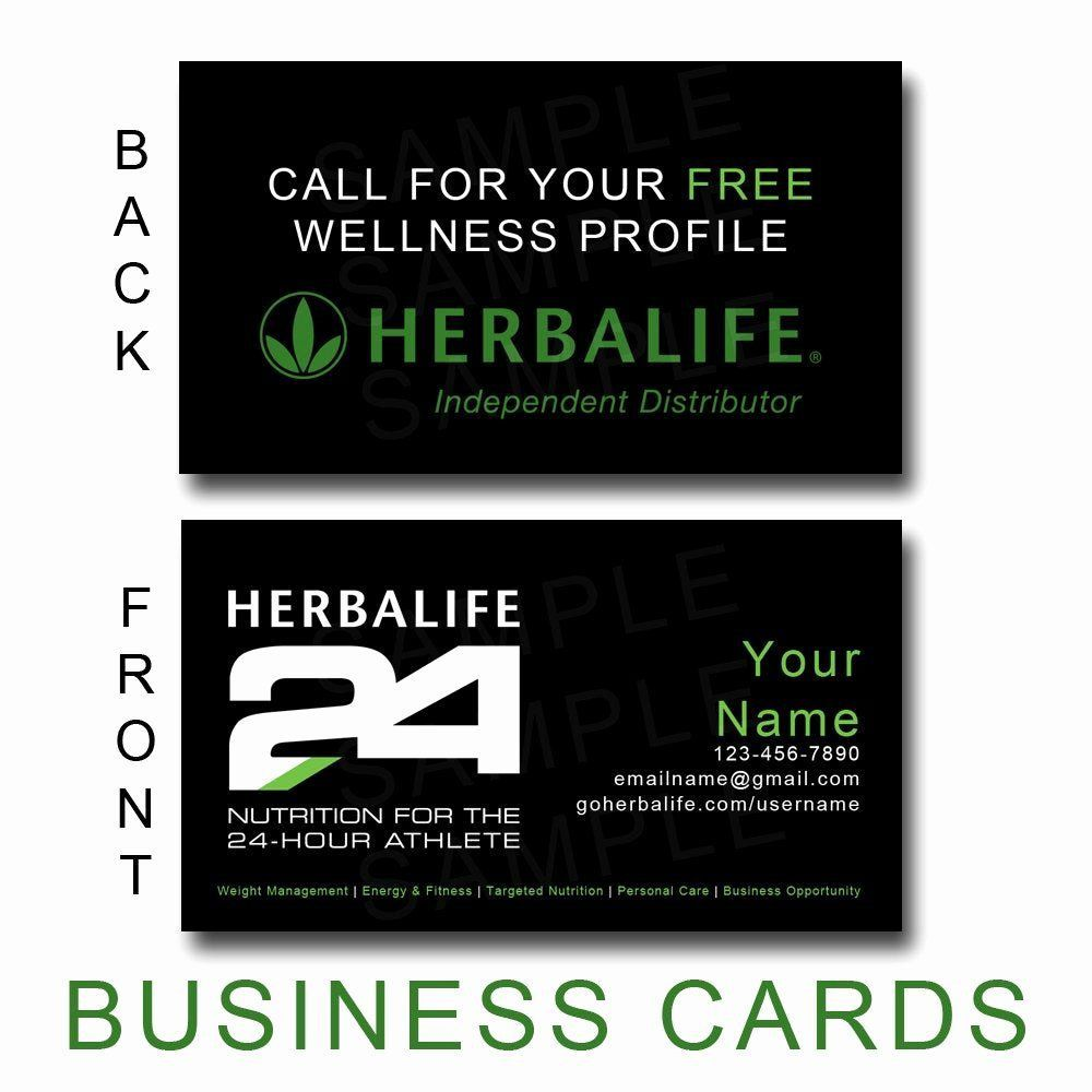 008 Frightening Herbalife Busines Card Template Inspiration  Download FreeFull