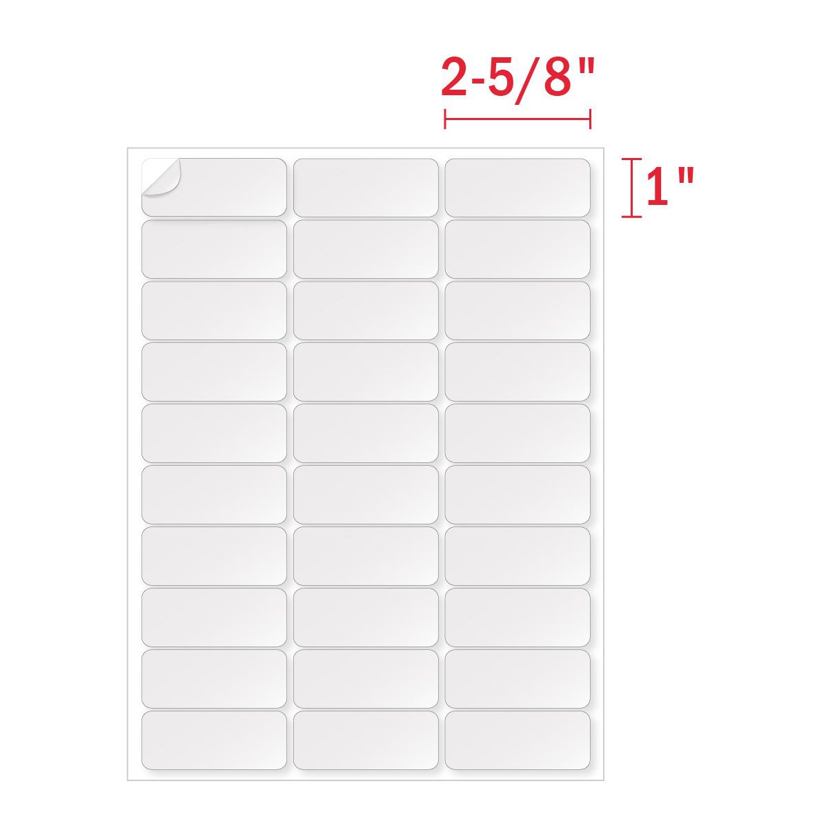008 Frightening Microsoft Word Addres Label Template 30 Per Sheet Image Full