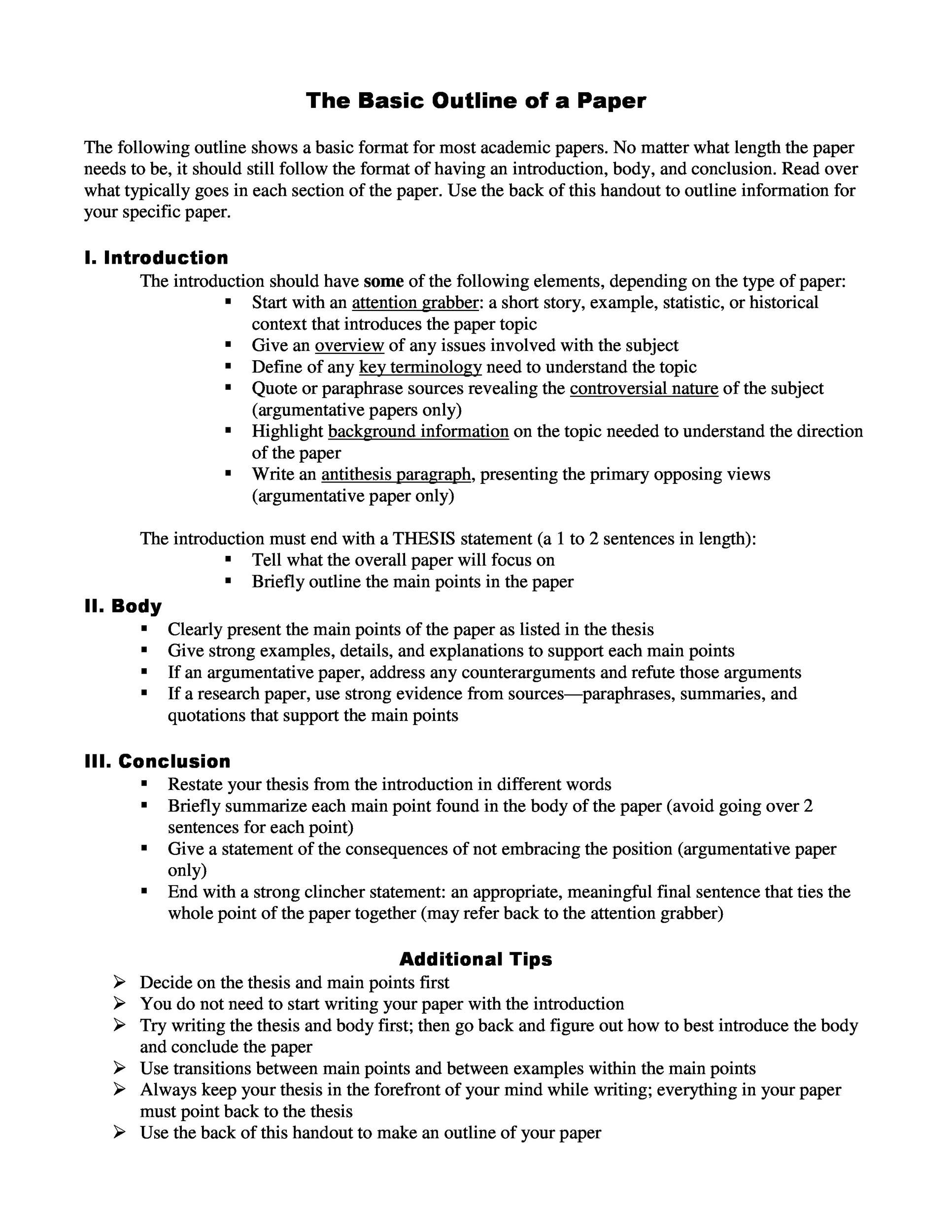 008 Frightening Research Project Proposal Outline Example Photo Full