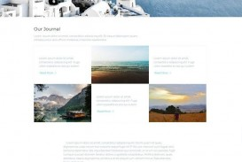 008 Frightening Simple One Page Website Template Free Download Example  Html With Cs
