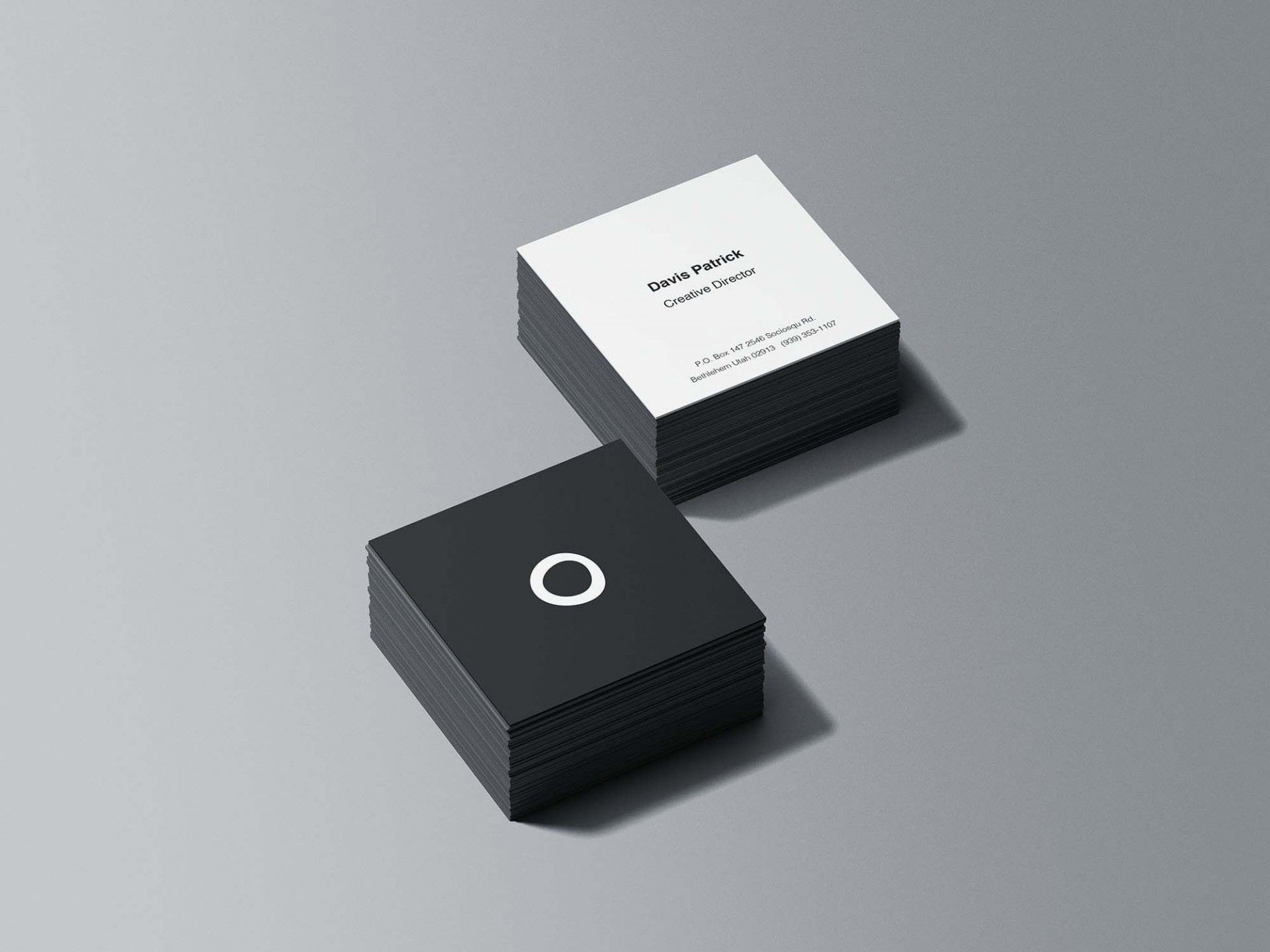 008 Frightening Square Busines Card Template Concept  Free Download Photoshop1920
