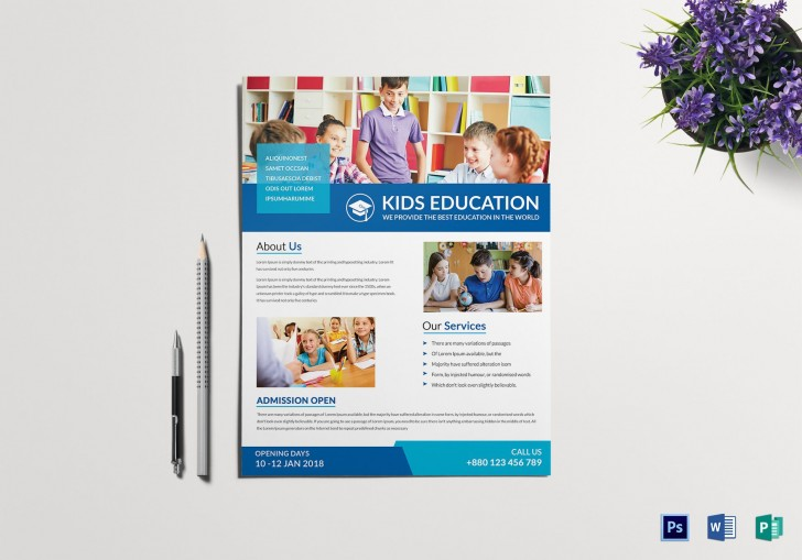 008 Frightening Tutoring Flyer Template Free High Resolution  Word728