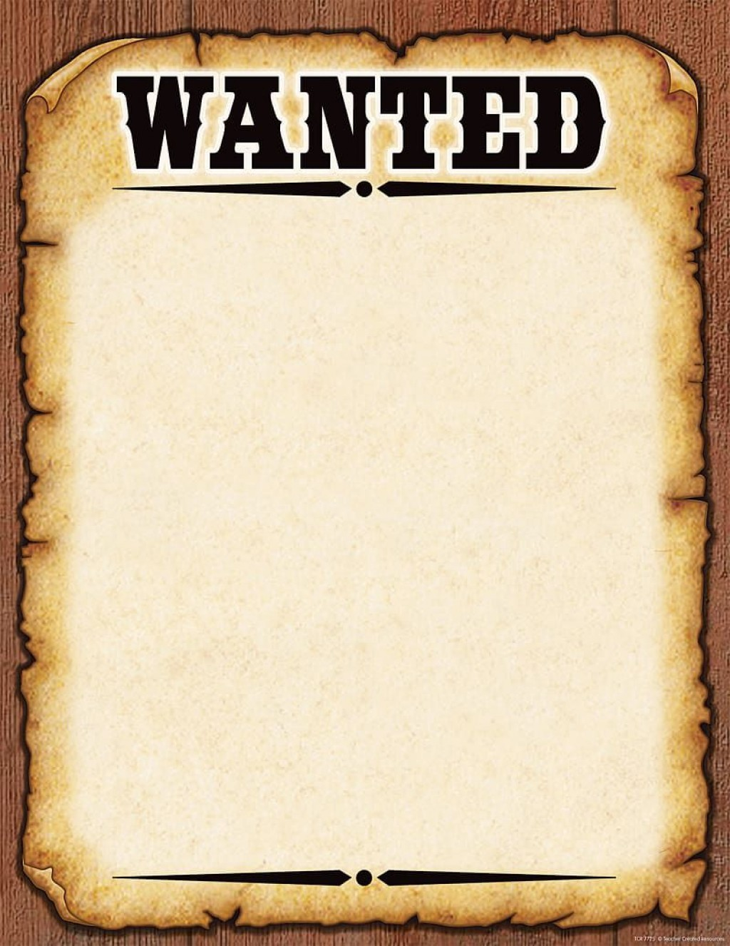 008 Frightening Wanted Poster Template Pdf Design  Free CharacterLarge