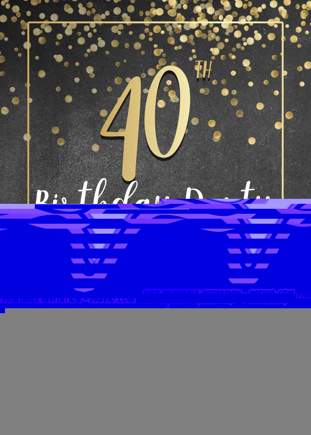 008 Imposing 70th Birthday Invitation Template Free Highest Clarity  Surprise Invite With PhotoFull