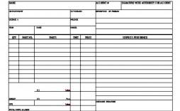 008 Imposing Auto Repair Invoice Template Free High Resolution  Excel Printable Pdf