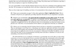 008 Imposing Example Of Letter Recommendation For Graduate School From Employer Inspiration  Sample Pdf Grad