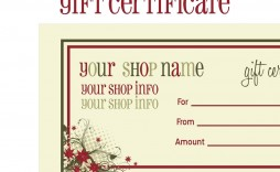 008 Imposing Free Printable Christma Gift Voucher Template High Resolution  Templates Holiday Certificate