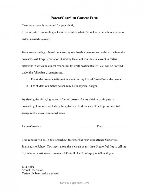 008 Imposing Free Printable Medical Consent Form Template Picture 480