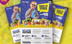 008 Imposing Free School Flyer Template Psd Highest Quality  Brochure Download Back To