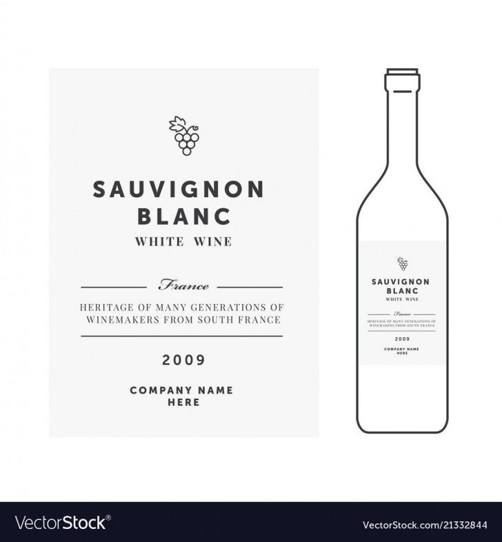 008 Imposing Free Wine Label Template Idea  Bottle Microsoft Word Online Psd728