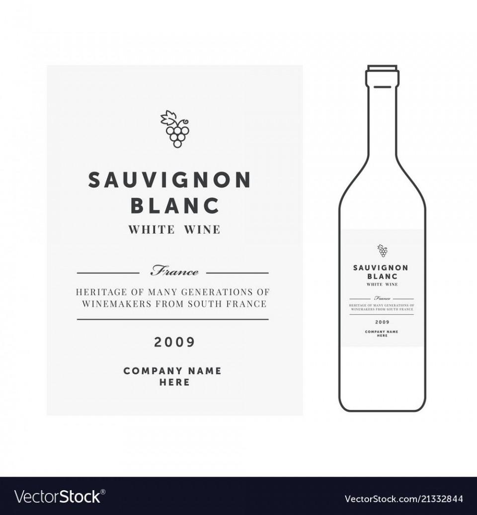 008 Imposing Free Wine Label Template Idea  Bottle Microsoft Word Online Psd960