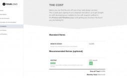 008 Imposing Freelance Web Design Proposal Template High Resolution