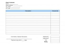 008 Imposing Invoice Template Pdf Fillable Concept  Free Cash Receipt Commercial