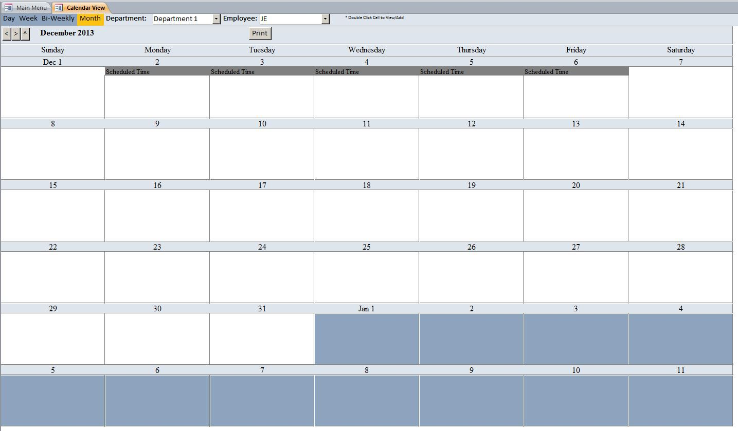 008 Imposing Microsoft Acces Employee Time Card Template Highest Clarity Full