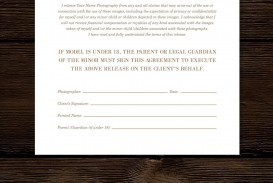 008 Imposing Model Release Form Template High Def  Photographer Gdpr Simple