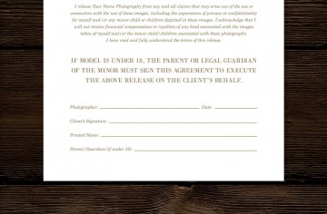 008 Imposing Model Release Form Template High Def  Photographer Gdpr Simple360