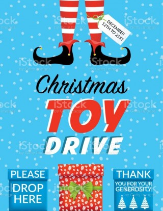 008 Imposing Toy Drive Flyer Template Free Inspiration  Download Christma320