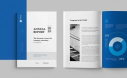008 Impressive Annual Report Design Template Example  Templates Word Timeles Free Download In