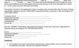 008 Impressive Basic Rental Agreement Template High Resolution  Tenancy Simple Word Doc
