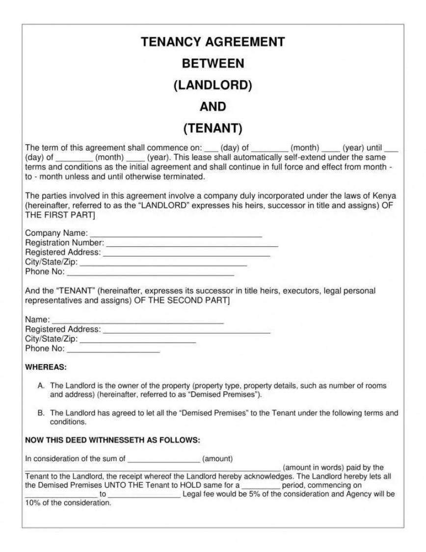 008 Impressive Basic Rental Agreement Template High Resolution  Simple Word Tenancy Free868
