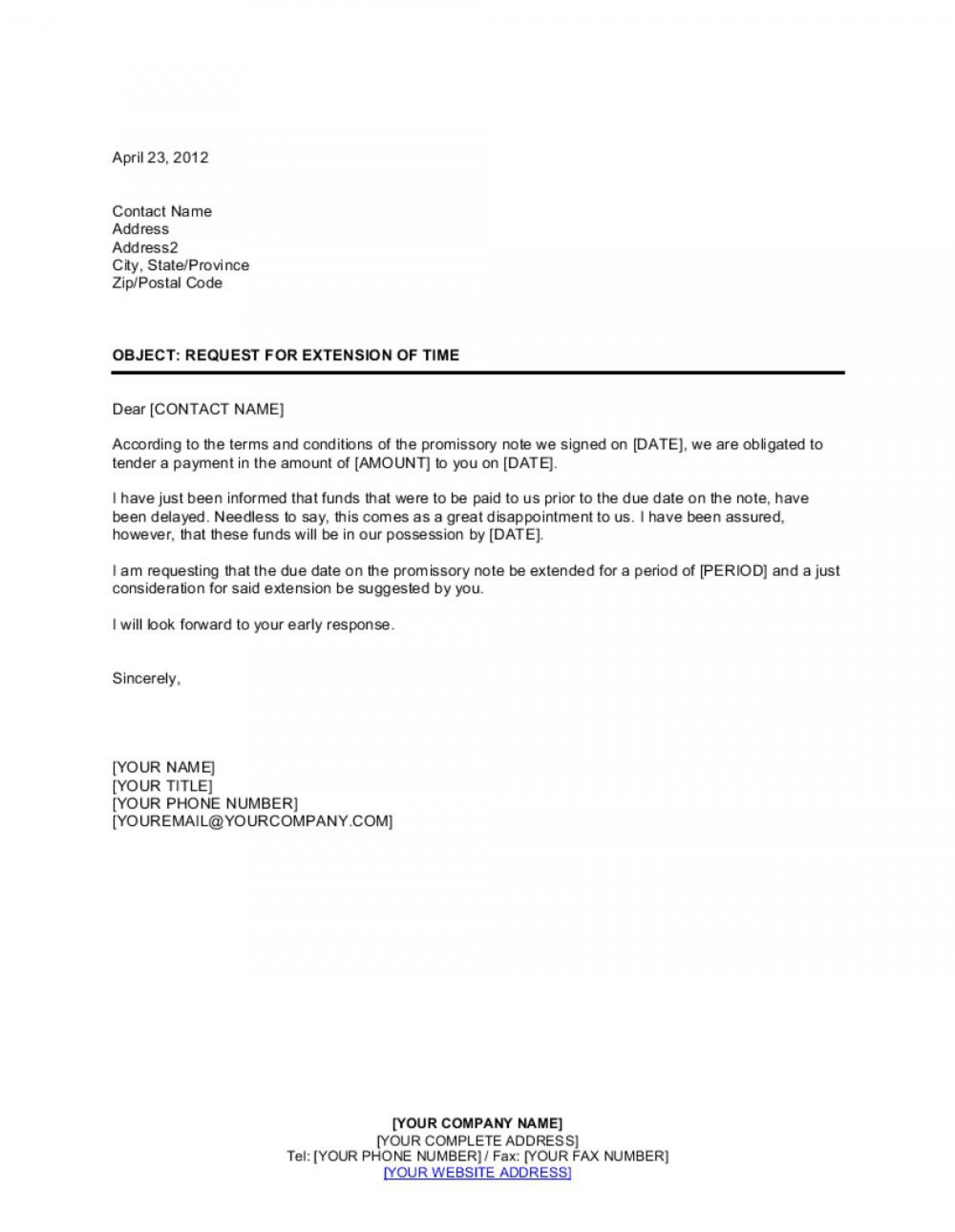 008 Impressive Blank Promissory Note Template Sample  Form Free Download1920