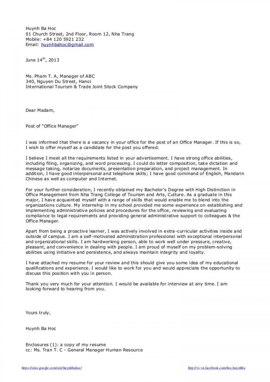 008 Impressive Cover Letter Sample Template For Fresh Graduate In Marketing Highest Clarity 1920