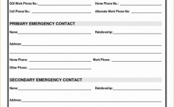 008 Impressive Emergency Information Card Template Highest Clarity  Contact Free For Child