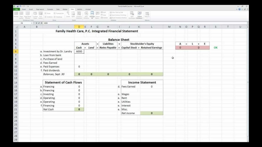 008 Impressive Financial Statement Template Excel Image  Consolidation Personal Free DownloadLarge