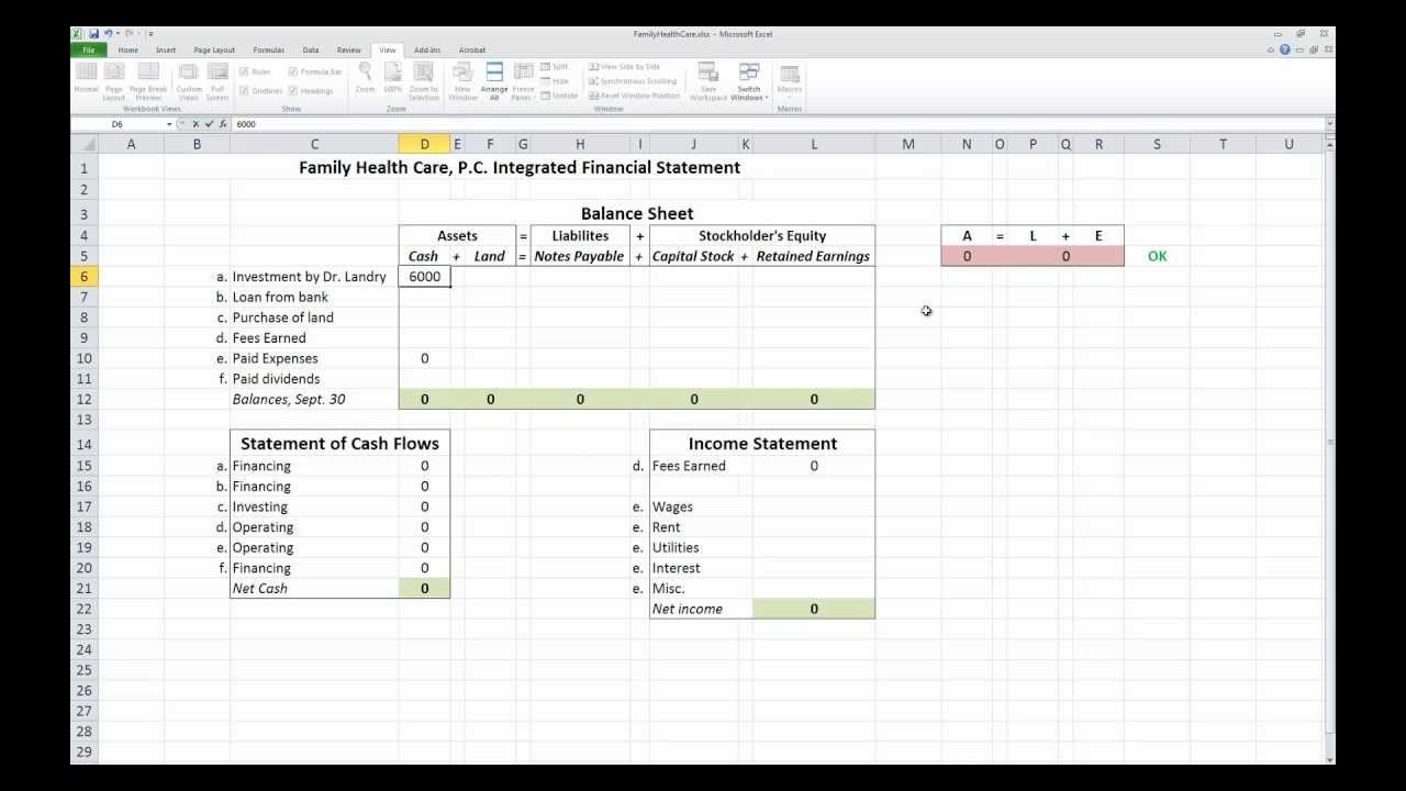 008 Impressive Financial Statement Template Excel Image  Consolidation Personal Free DownloadFull