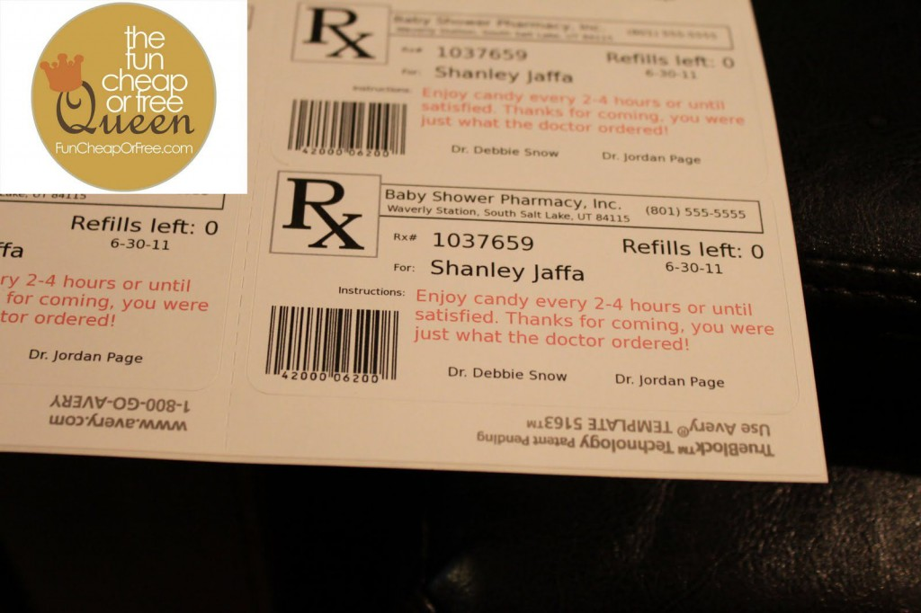 008 Impressive Free Fake Prescription Label Template Inspiration Large