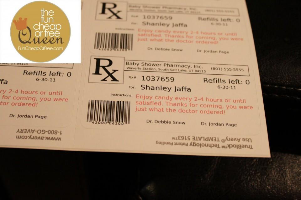 008 Impressive Free Fake Prescription Label Template Inspiration 960