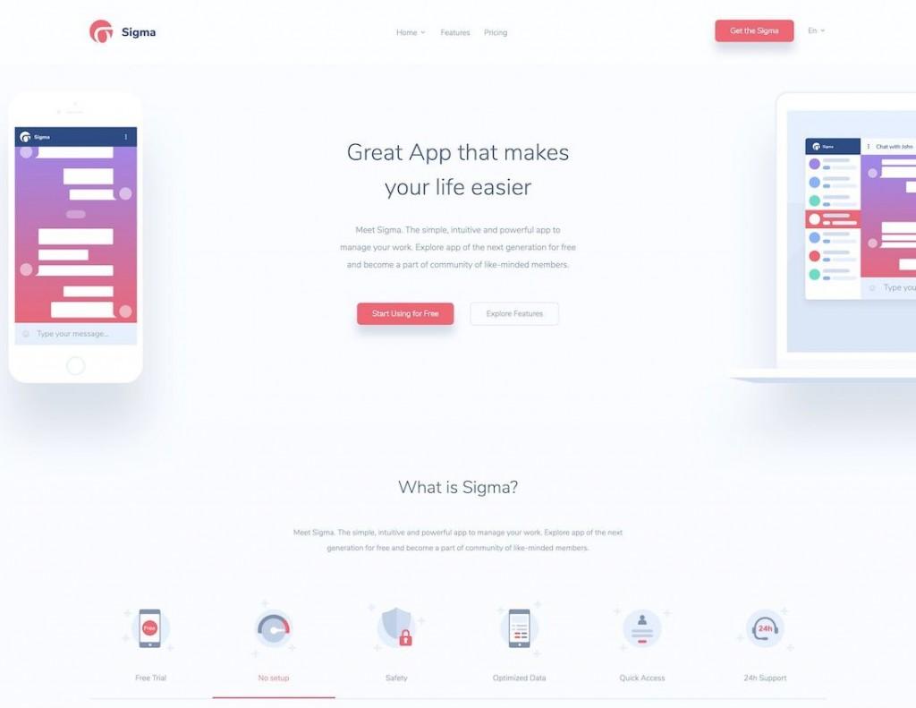 008 Impressive Free Mobile Website Template Idea  Templates Phone Download Responsive FriendlyLarge