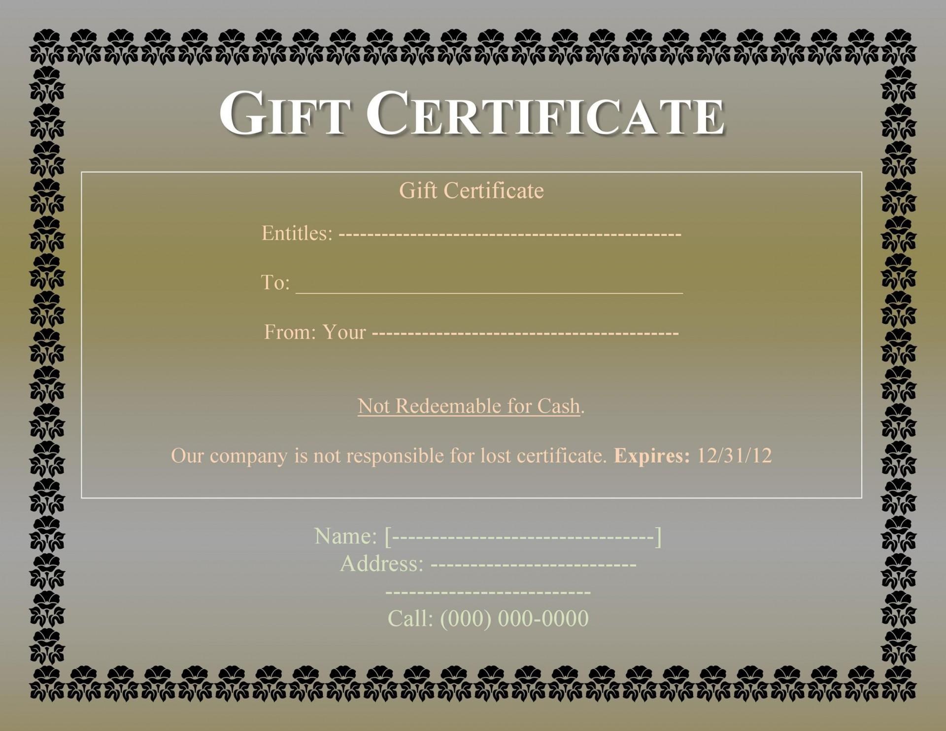008 Impressive Free Printable Template For Gift Certificate Design  Voucher1920
