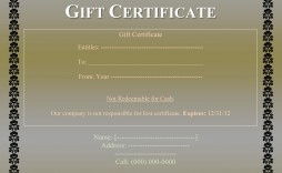 008 Impressive Free Printable Template For Gift Certificate Design  Certificates Voucher Birthday