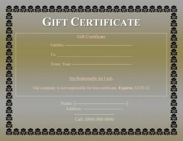 008 Impressive Free Printable Template For Gift Certificate Design  Voucher360