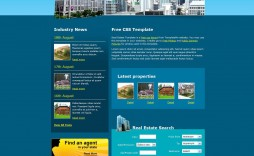008 Impressive Free Real Estate Template High Definition  Templates Website Html5 Flyer For Mac Psd