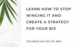 008 Impressive Free Simple Busines Plan Template Inspiration  Example Pdf