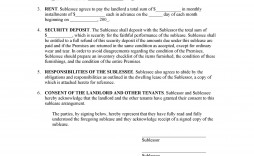 008 Impressive Free Sublease Agreement Template Pdf Image  Room Rental Car Form Residential Lease