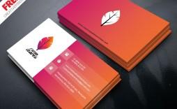 008 Impressive Free Visiting Card Design Psd Download Picture  Busines Restaurant