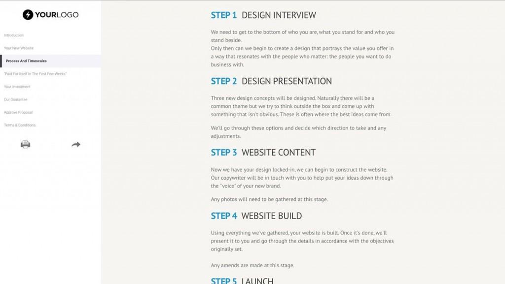 008 Impressive Freelance Web Developer Proposal Template Highest Clarity Large
