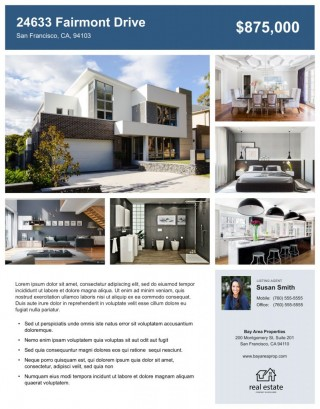 008 Impressive House For Sale Flyer Template Highest Quality  Free Real Estate Example By Owner320