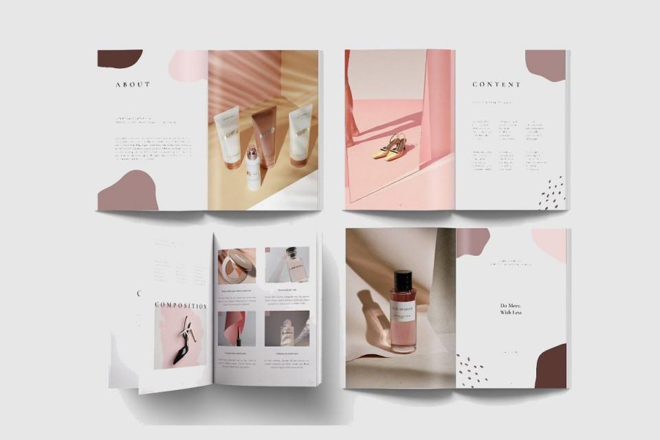 008 Impressive In Design Portfolio Template  Free Indesign A3 Photography Graphic Download960
