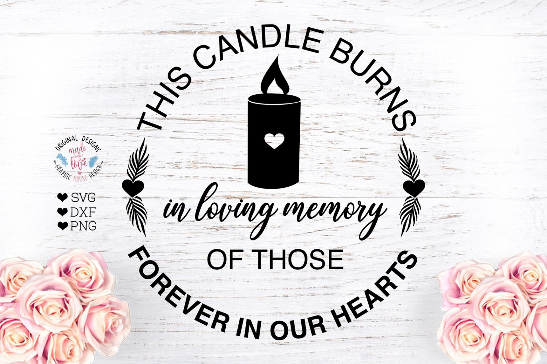 008 Impressive In Loving Memory Decal Template Inspiration  Templates1920