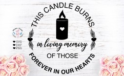 008 Impressive In Loving Memory Decal Template Inspiration  Templates