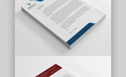 008 Impressive Letterhead Format In M Word Free Download Highest Quality